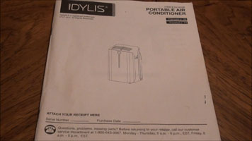 idylis air conditioner manual